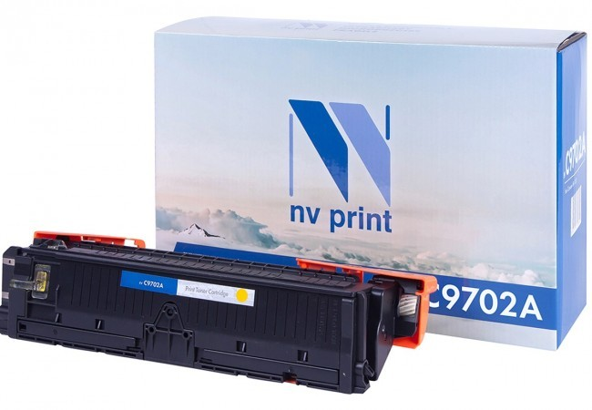 Картридж NV Print C9702A для принтеров HP LaserJet Color 1500/ 2500, 4000 страниц