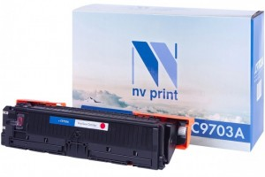 Картридж NV Print C9703A для принтеров HP LaserJet Color 1500/ 2500, 4000 страниц