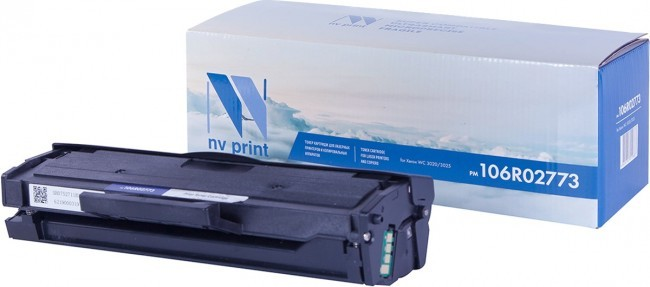 Картридж NV Print 106R02773 для принтеров Xerox Phaser 3020/ WorkCentre 3025, 1500 страниц