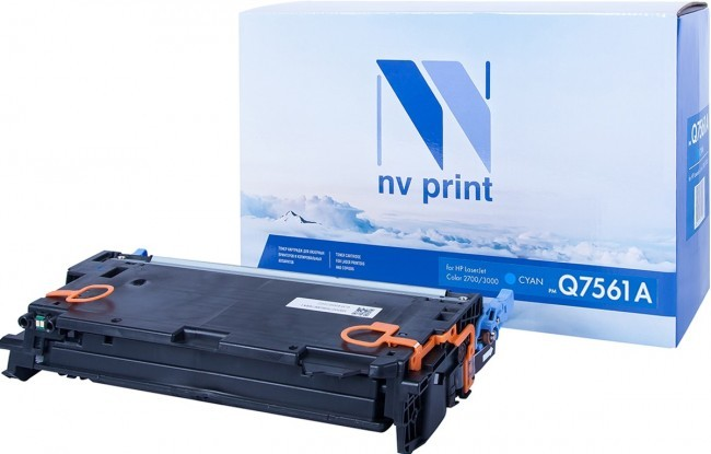 Картридж NV Print Q7561A для принтеров HP LaserJet Color 2700/ 3000, 3500 страниц
