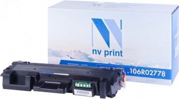 Картридж NV Print 106R02778 для принтеров Xerox Phaser 3052/ 3260/ WorkCentre 3215/ 3225, 3000 страниц