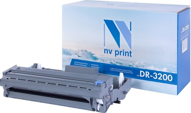 Барабан NV Print DR-3200 для принтеров Brother HL-5340DL/ 5340D/ 5350DN/ 5370DW/ 5380DN/ MFC-8880DN/ 8370/ 8380/ 8890DW/ DCP-8085DN, 25000 страниц