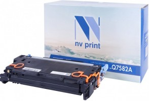 Картридж NV Print Q7582A для принтеров HP LaserJet Color CP3505/ 3800, 6000 страниц