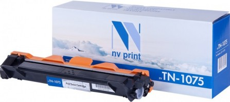 Картридж NV Print TN-1075 для принтеров Brother HL-1110R/ 1112/ 1210WR/ 212/ DCP-1510R/ 1512/ 1610WR/ 1612/ MFC-1810R/ 1815/ 1912WR, 1000 страниц