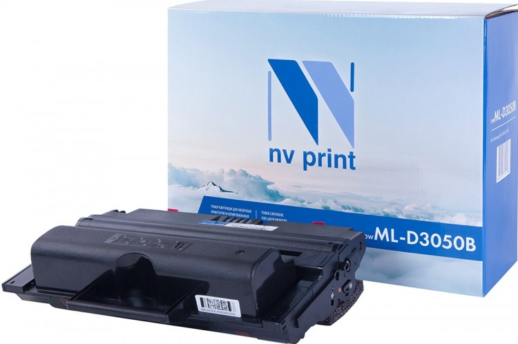Картридж NV Print ML-D3050B для принтеров Samsung ML-3050/ ML-3051N/ ML-3051ND, 8000 страниц