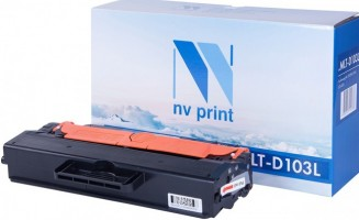 Картридж NV Print MLT-D103L для принтеров Samsung ML-2955ND/ DW/ SCX-472x, 2500 страниц
