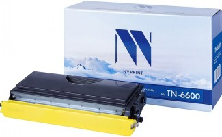 Картридж NV Print TN-6600 для принтеров Brother HL-1030/ 1240/ 1230/ 1250/ 1270N/ 1430/ 1450/ 1440/ 1470N/ P2500/ FAX-8350P/ 8360P/ 8360PLT/ 8750P/ MFC-9650/ 9750/ 9760/ 9850/ 9870/ 9660/ 9860/ 9880, 6000 страниц