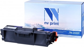 Картридж NV Print TN-3520T для принтеров Brother HL-L6400DW/ L6400DWT/ MFC-L6900DW/ L6900DWT, 20000 страниц