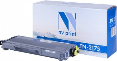 Картридж NV Print TN-2175T для принтеров Brother HL-2140R/ 2142/ 2150NR/ 2170WR/ DCP-7030R/ 7032/ 7040/ 7045NR/ MFC-7320R/ 7440NR/ 7840WR, 2600 страниц