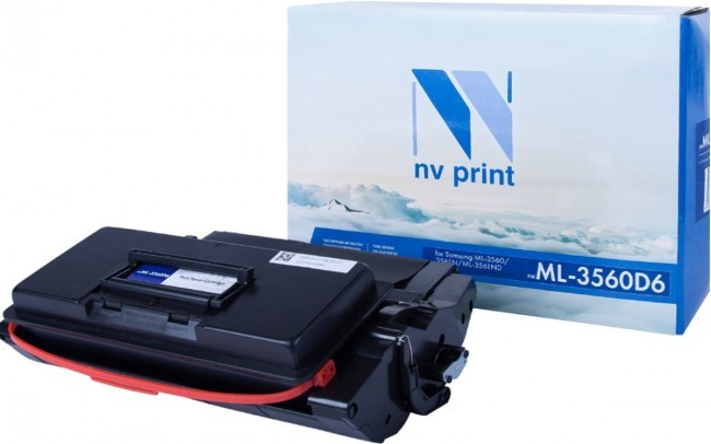 Картридж NV Print ML-3560D6 для принтеров Samsung ML-3560/ 3561N/ 3561ND, 6000 страниц