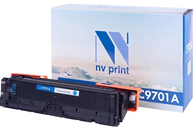 Картридж NV Print C9701A для принтеров HP LaserJet Color 1500/ 2500, 4000 страниц